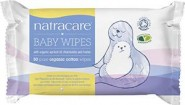 Natracare Organic Baby Wipes 50 pcs.