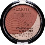 Sante 2in1 Contouring & Bronzer Powder 01 Light Medium - 9g