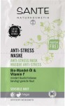 Sante Anti Stress Mask Bio-Almond Oil & Vitamin F - 2x 4 ml