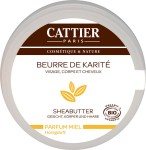 Cattier SHEA BUTTER Honey Fragrance - 100 ml