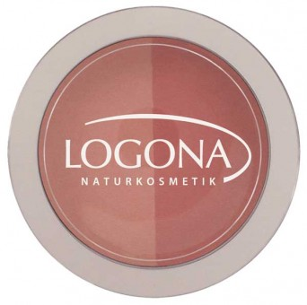 Logona Rouge Duo Blush No. 02 Peach & Apricot - 10g