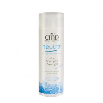 CMD Neutral Shampoo & Shower Gel with salt from the Dead Sea - 200 ml