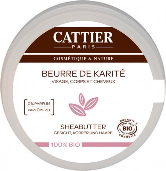 Cattier SHEA BUTTER 100% Organic Nourishing - 100 ml