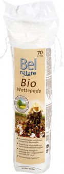 Bel Nature Cotton Pads - 70 pcs.