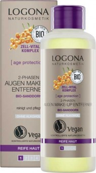Logona Age Protection 2-Phase Eye Makeup Remover - 100 ml