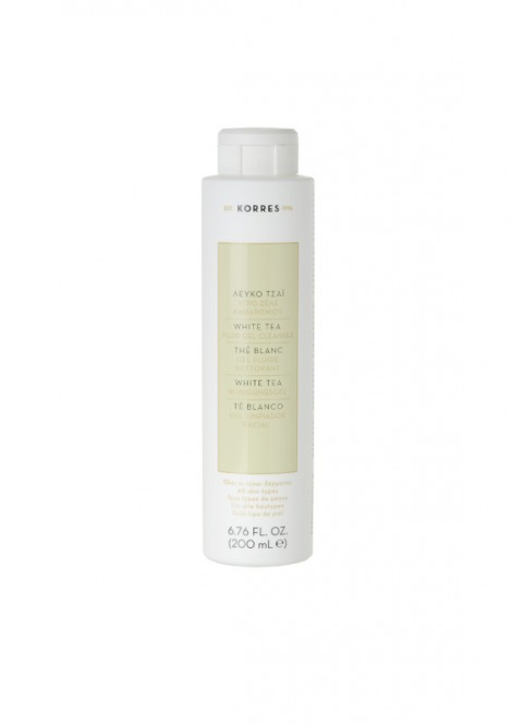 Korres White Tea Fluid Gel Cleanser - 200 ml