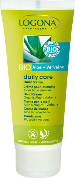 Logona Daily Care Hand Cream Bio-Aloe-Verveine 100 ml