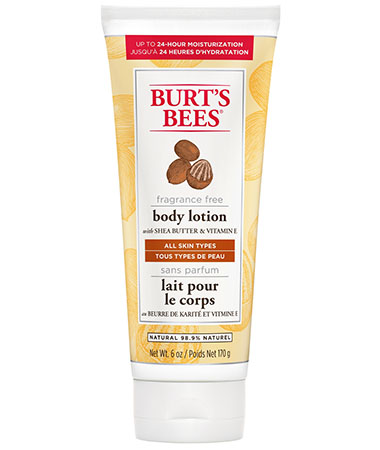 Burt's Bees Fragrance Free Body Lotion Sheabutter & Vitamin E - 170 g