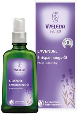Weleda Lavender Relaxing Body Oil - 100 ml