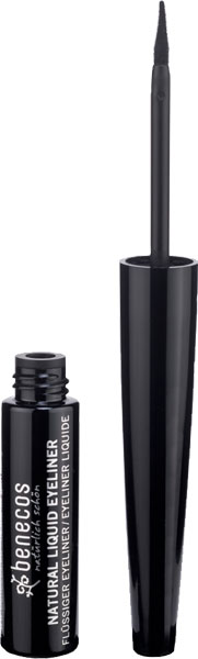 Benecos Natural Liquid Eyeliner Black - 1 pcs