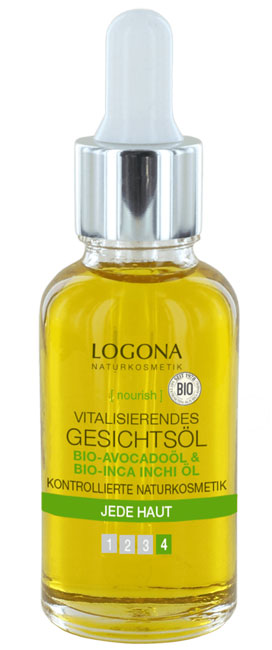 Logona Vitalizing Facial Oil - 30 ml