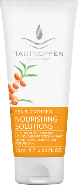 Tautropfen Sea Buckthorn Moisturizing Hand Cream - 75 ml
