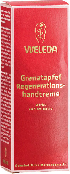 Weleda Pomegranate Regeneration Hand Cream 50 ml