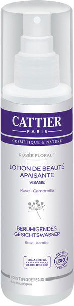 Cattier Calming Facial Tonic - 200 ml