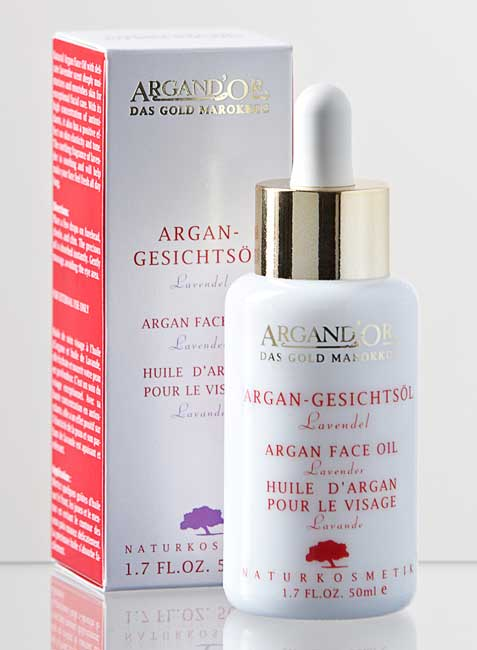 Argan d'Or Argan Face Oil Lavender - 50 ml