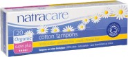 Natracare Organic 100% Cotton Tampons (Super plus) - 20 pcs.