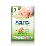 Moltex Eco Nappy Newborn - 23 pcs.