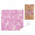 Bee's Wrap Sandwich Wrap Clover Print Purple - 1 pcs.