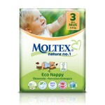 Moltex Eco Nappy Midi - 34 pcs.