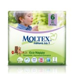 Moltex Eco Nappy XL - 22 pcs.