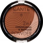 Sante 2in1 Contouring & Bronzer Powder 01 Medium Dark - 9g
