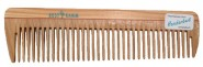 Kostkamm Natural Wood Travel Comb - 14 cm