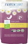 Natracare Organic 100% Cotton Maxi Pads Regular - 14 pcs.