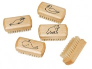 Redecker Children Natural Wood Nail Brush - 1 pcs.