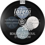 Lavera Illuminating Eyeshadow Quattro Blue Platinum 07 - 3.2 g