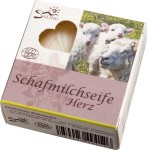 Saling Sheep's Milk Natural Soap (Heart Shape) - 65 g