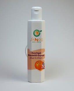 Sanoll Showergel Almond Oil Orange - 200 ml