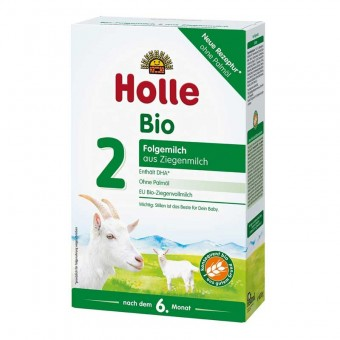 Holle Organic Infant Goat Milk Follow-on Formula 2 as of the 6th month  - 400 g