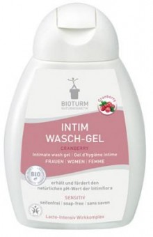 Bioturm Intimate Feminine Wash Gel Cranberry No. 91 - 250 ml