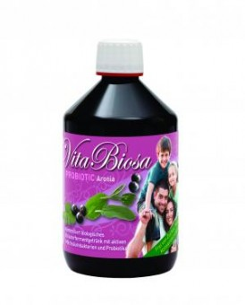 Biosanica Vita Biosa Aronia (fermented herb drink with lactic acid cultures) kbA - 500 ml