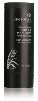 Living Nature Men Soothing Plant Moisturizer - 100 ml