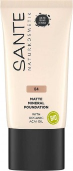 Sante Matte Mineral Foundation 04 Cool Fawn - 30 ml