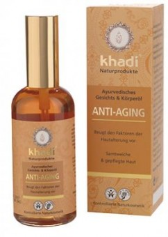 Khadi Anti-Aging Oil for Mature Skin - 100 ml