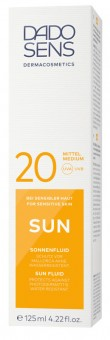 DADO SENS Sun Fluid SPF 20 - 125 ml