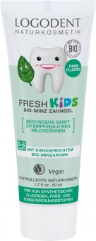 Logona Fresh Kids Organic Mint Toothgel - 50 ml
