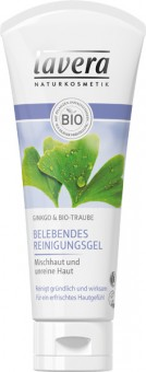 Lavera Refreshing Cleansing Gel Bio-Ginkgo - 100 ml