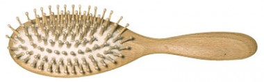 Redecker Beech Tree Hairbrush Big with rounded mapple ends - 1 pcs.