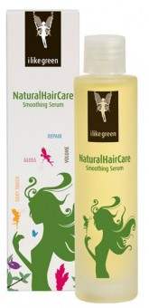 Aubrey Organics ilikegreen Natural Hair Care Smoothing Serum - 50 ml