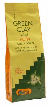 Argital Active Ventilated Green Clay - 500 g