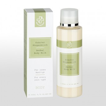 Hagina Herbal Body Milk w. Avocado & Almond - 200 ml