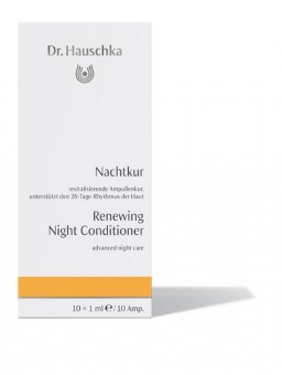 Dr. Hauschka Renewing Night Conditioner - 10x1 ml Ampules
