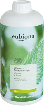 Eubiona Volume Mint Styling Foam - 500 ml