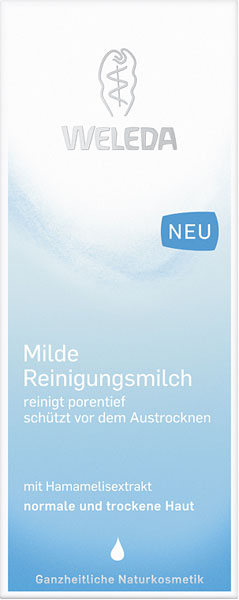 Weleda Mild Cleansing Milk - 100 ml