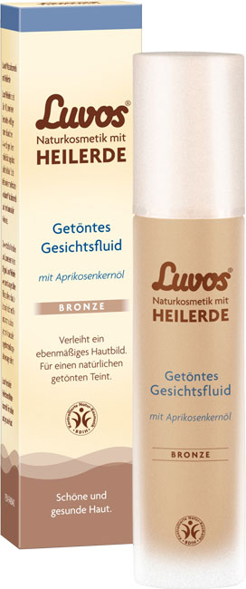 Luvos Tinted Face Fluid Bronze - 50 ml
