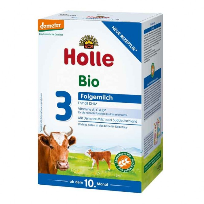 Holle Organic Growing-up Milk 3 as of the 10th month - 600 g