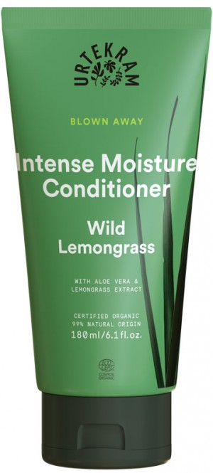 Urtekram Wild Lemongrass Intense Moisture Conditioner - 180 ml
